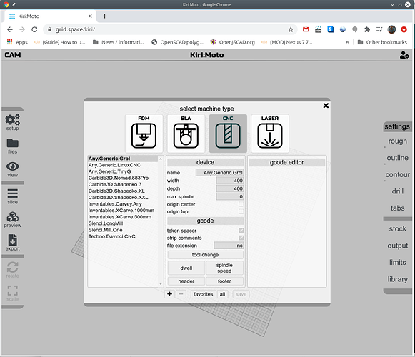 kiri-moto-settings-machines