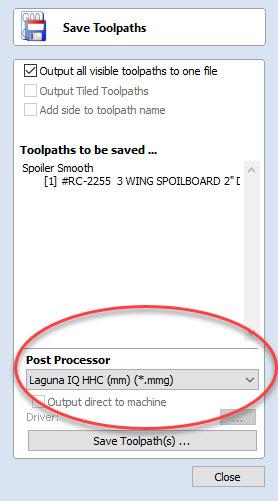 tool processor setup
